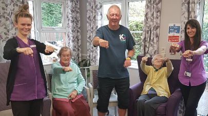 The Beeches Care home launches exercise programme for older people