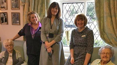 Devonshire House care home dedicates room in memory of philanthropist Sue Ryder