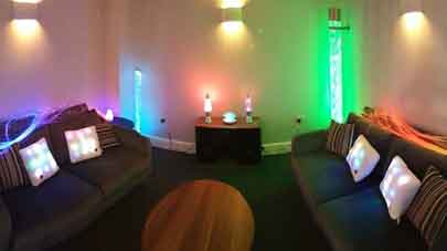 Dawson Lodge care home introduces sensory room for residents living with dementia
