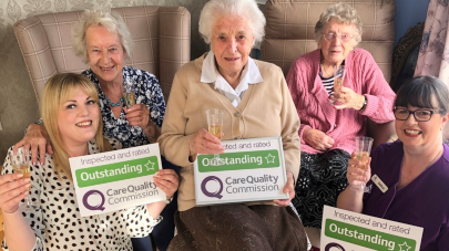 Beech Hall care home rated outstanding by Care Quality Commission