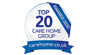 Anchor care homes recognised in carehome.co.uk top 20 for 2020 awards