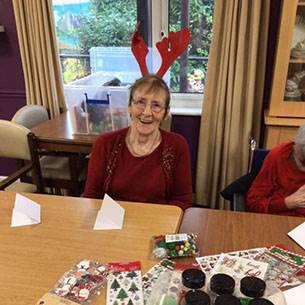 Trinity Lodge Christmas resident