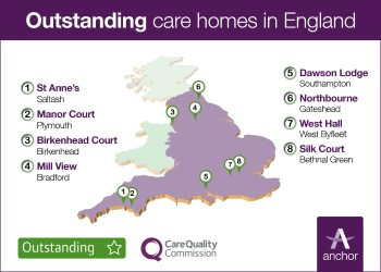 Anchor's 8 outstanding care homes