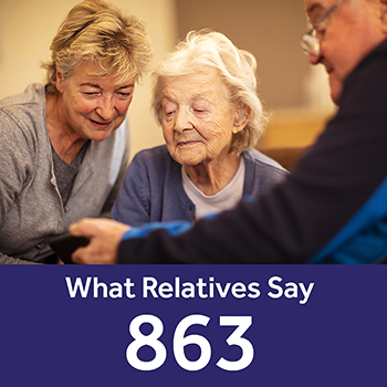 Birkenhead Court Your Care Rating - Relatives