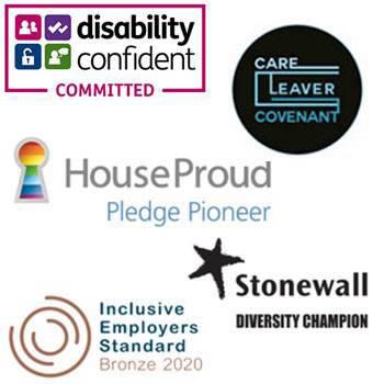Celebrating diversity logos