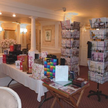 Gift shop at Rostherne Court in Altrincham