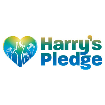 Harry's pledge logo