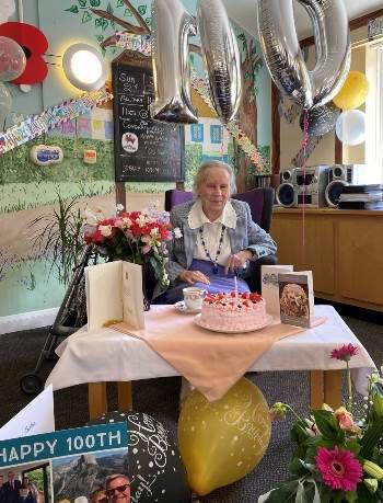 Marjorie Winn 100th birthday