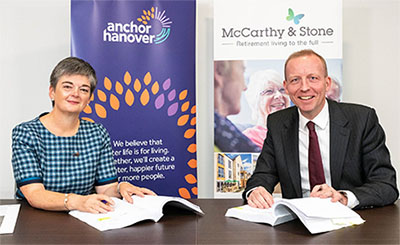 McCarthy & Stone and Anchor Hanover contract signing