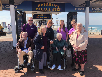 Oakleigh Anchor care home Brighton trip