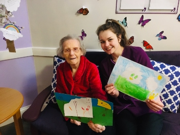 Oakleigh care home received letters from children