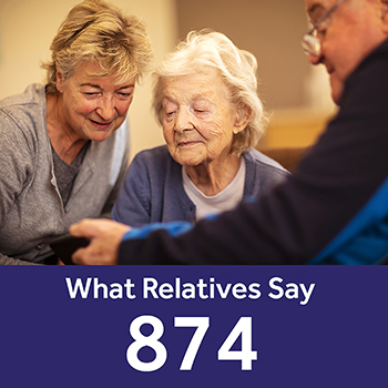 Palmersdene care home Your Care Rating - Relatives