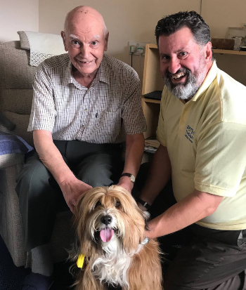 Pets As Therapy at The Ridings care home