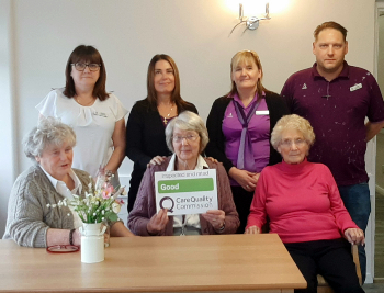 Prior Bank care home awarded Good CQC rating