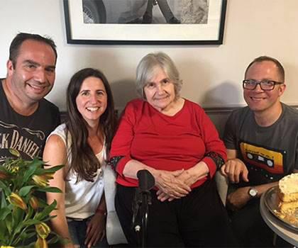 Sarah Howard and family
