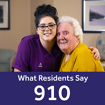 Springfield care home Your Care Rating results - residents