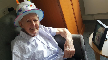 Springfield care home - Colin's 95th birthday