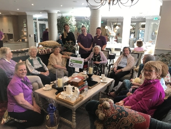 The Manor House staff and residents