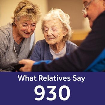 Trinity Lodge care home Your Care Rating - Relatives