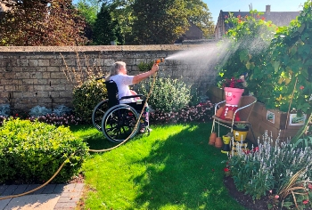 Wetherby Manor care home garden