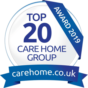 carehome.co.uk Top 20 Group logo 2019