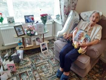 Miriam's 100th birthday