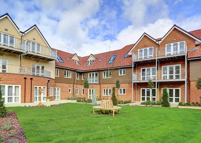 One of our estates, Keble Court
