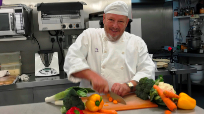 Palmersdene care home Chef reaches finals of Chef of the Year
