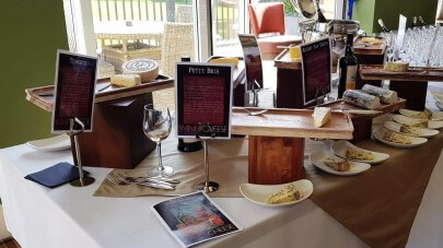 Bishopstoke Park retirement village hosts cheese and wine tasting event