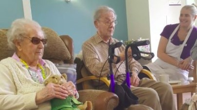 Borrage House resident celebrates turning 100
