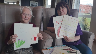 Children asked to write to care home residents