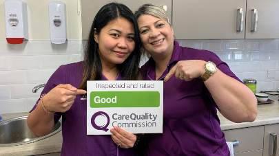 Eastlake care home praised by care regulator