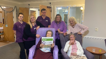 Care home Greenacres praised by care regulator