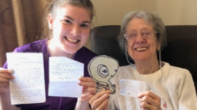 Children asked to write to Hatton Grange care home residents