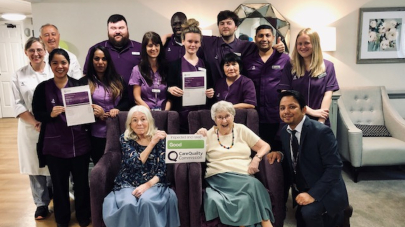 Limegrove care home praised by care regulator