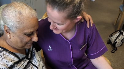 Ashcroft care home resident gives romantic advice to young valentines