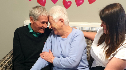 Northbourne couple offer romantic advice to young valentines