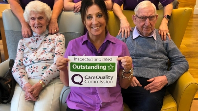 Montrose Hall care home praised by care regulator