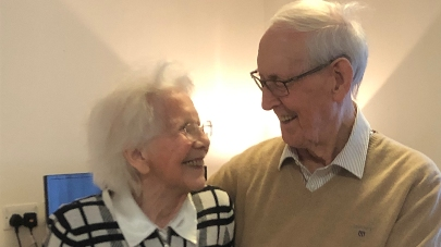 Teal beck house couple give romantic advice to young valentines