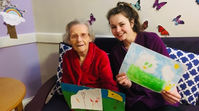 Children write to Oakleigh care home residents
