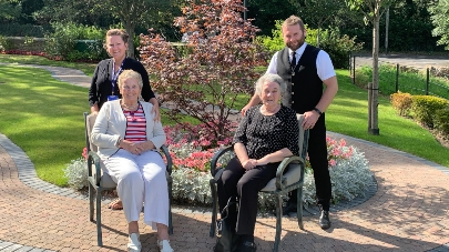 Residents and staff from Oulton Manor care home praised