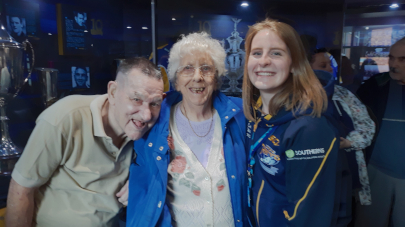 Leeds care home organise for rugby fan with dementia to look round the Rhinos' stadium