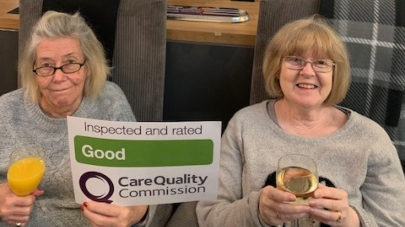 Firth House care home has been praised by care regulator