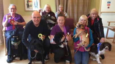 Townend Close care home holds Crufts event for family and staff pets