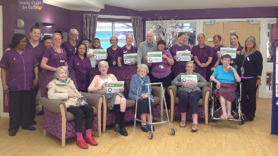 Trinity Lodge care home praised by care regulator