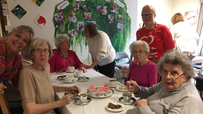 Willow Gardens care home hosts charity coffee morning