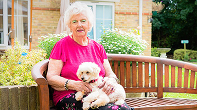 Pets' power to prevent older people's loneliness and anxiety