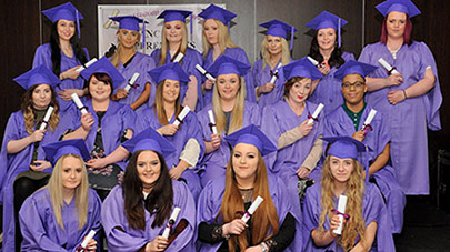 Care home apprentices graduate after a year of hard work