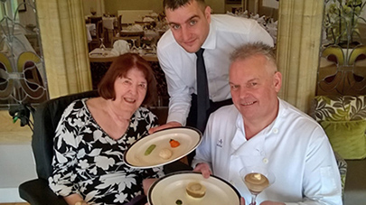 First care home restaurant to offer meals to public with swallowing difficulties