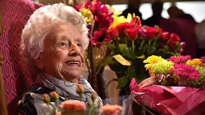 Mill View's Marjorie Smith – 100 Not Out